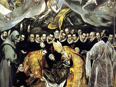 Похороны графа Оргаса