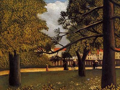 View Of Parc De Montsouris