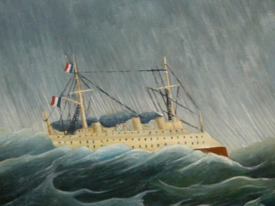 The Storm Tossed Vessel