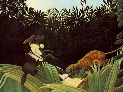 Scout Attacked By A Tiger