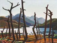 Насыщенные красками пейзажи художника Франклина Кармайкл