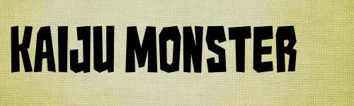 Kaiju Monster G