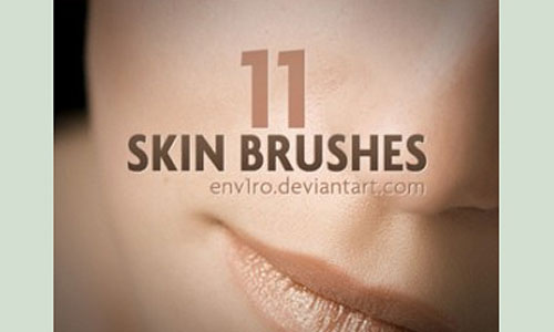 Скачать Skin Photoshop Brushes