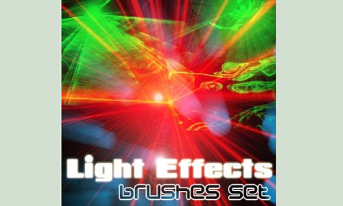 Скачать Light Effects Brushes Set