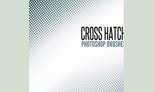 Скачать Brushes Cross Hatch