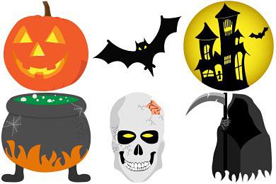 Скачать Halloween Icons