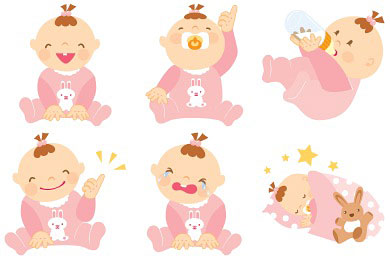 Скачать Baby Girl Icons