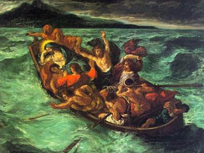 Христос на Генисаретском озере
