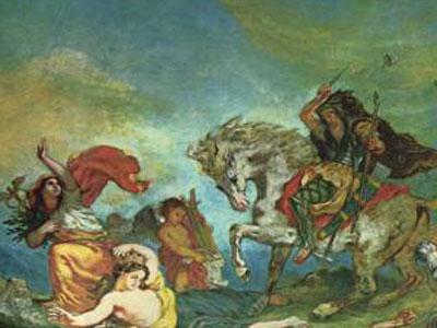 Атилла и его орды вторгаются в Италию
