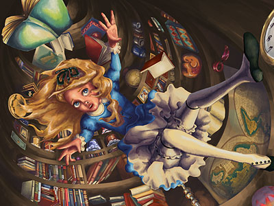 Перейти на Alice In Wonderland: Rabbit Hole