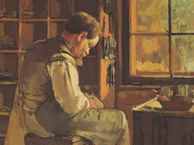 The cobbler by the window
