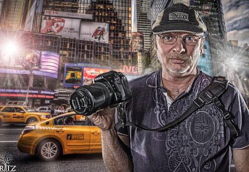 Перейти на Photographer In Times Square