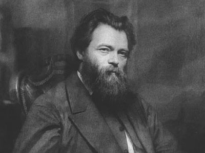 Portrait of the painter Ivan Shishkin