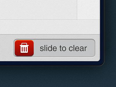 Перейти на Slide To Clear