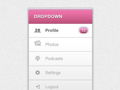 Перейти на UI Dropdown