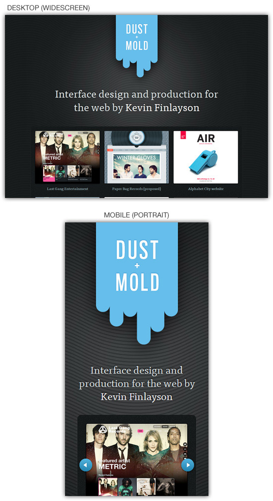 Перейти на Dust And Mold