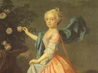 Portrait of Agnes Murray Kynnynmond, 1739