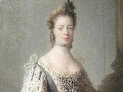 Portrait of Sophia Charlotte of Mecklenburg-Strelitz