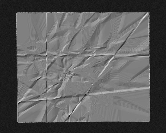 Создаем в фотошопе реалистичную текстуру мятой бумаги