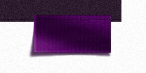 Создаем в фотошопе надпись на текстурном флажке со строчкой