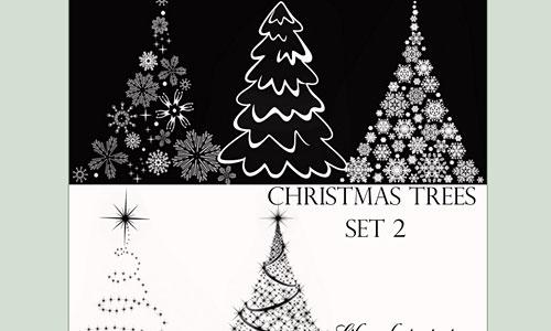 Скачать Christmas Tree Brushes