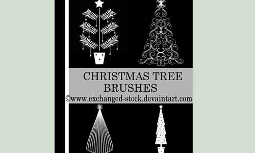 Скачать Christmas Tweee Brushes