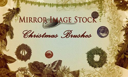 Скачать Christmas Brushes