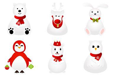 Скачать White Animals Icons