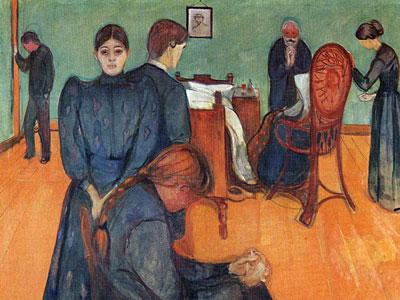 Смерть в комнате больного, 1893