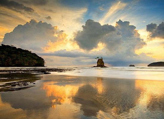 Sunset Clouds Beach Costa Rica