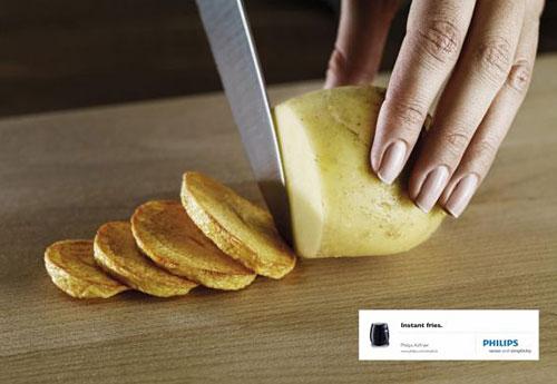 Philips Airfryer: Potato