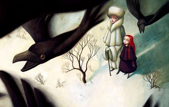 Сказочные персонажи и сюжеты в творчестве Benjamin Lacombe