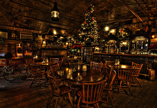 The Griswold Inn At Christmas