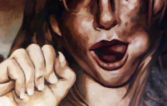 Привлекательные женские образы в работах Thomas Saliot