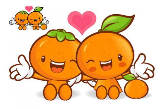 Скачать Love The Cartoon Super Fruit Vector
