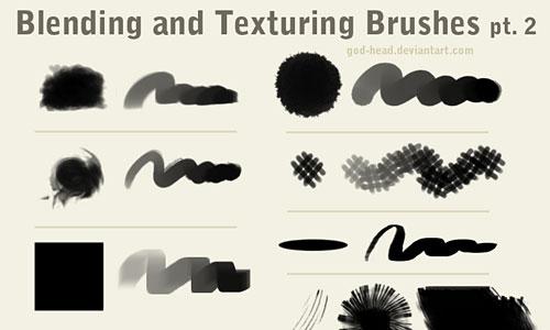 Скачать Blending And Texturing Brushes