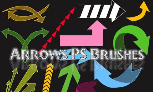 Скачать Arrows Photoshop Brushes