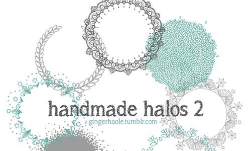 Скачать Handmade Halos 2 Brush Set