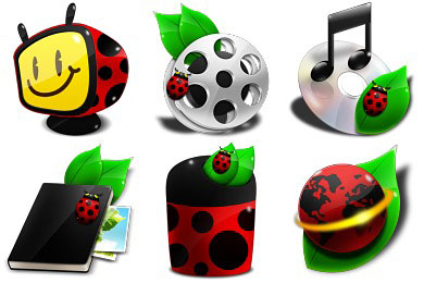 Скачать Ladybug Icons