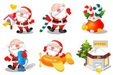 Скачать Santa Icons