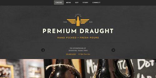 Перейти на Premium Draught