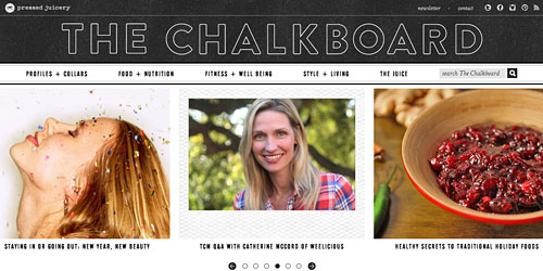 Перейти на The Chalk Board Mag