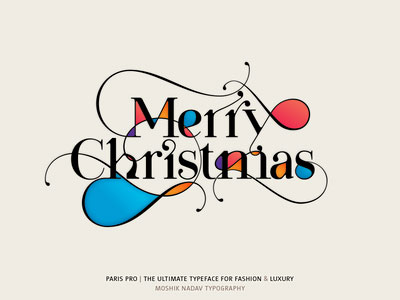 Перейти на Merry Christmas Made With Paris Pro Typeface