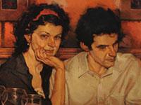 Теплые краски и романтика от художника Joseph Lorusso