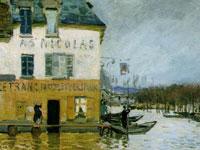 Лиричная тонкость и изящество пейзажей от художника Альфреда Сислей