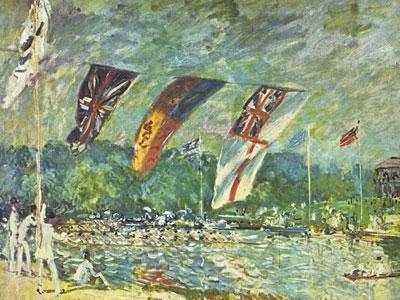 The Regattas Moseley, 1874