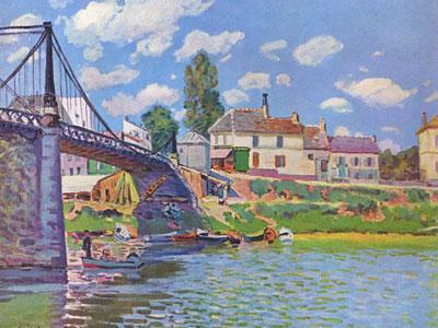 Bridge At Villeneuve La Garenne, 1872