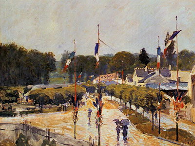 Fete Day At Marly Le Roi, 1875