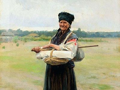 Продавщица холста, 1901