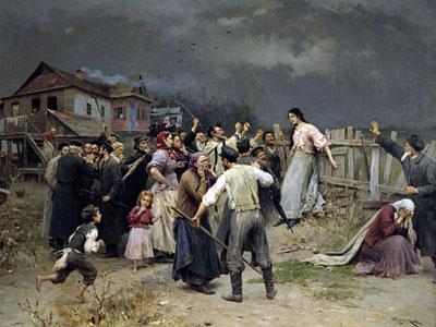 Жертва фанатизма, 1899